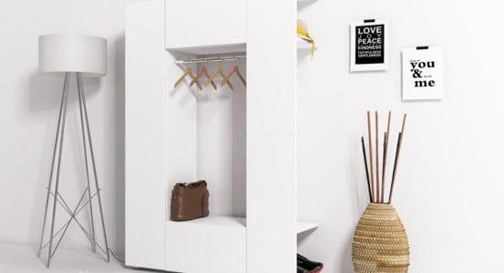 Praktikus gardróbszekrény kisebb lakásba